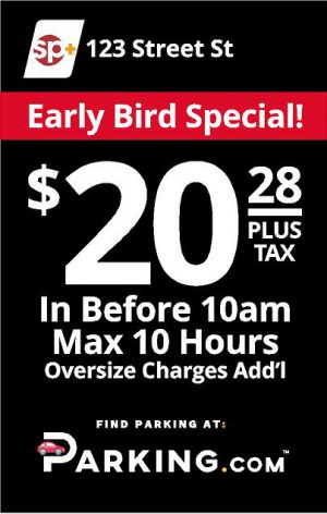 Early bird sign image