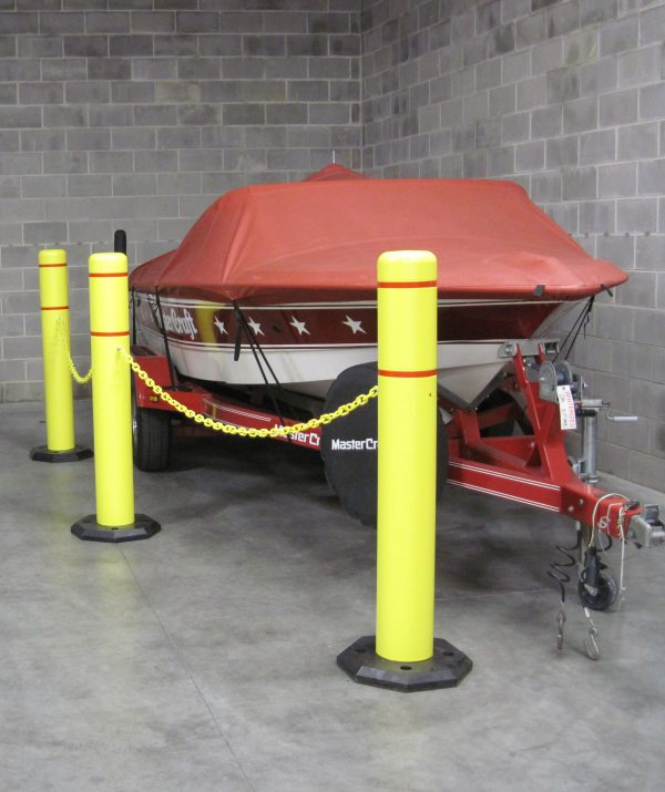 Photo of a bollard gards