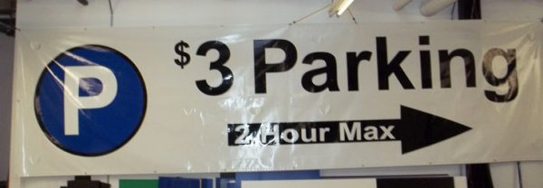 Photo of a banner sample