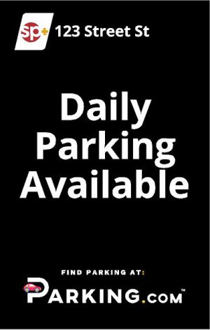 Daily parking available sign image