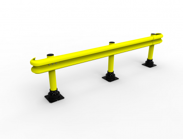 photo of a guard rail example