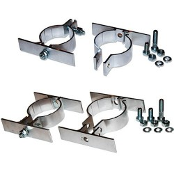 photo of different sign brackets