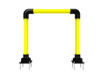 photo of a 3 inchs horseshoe delineator