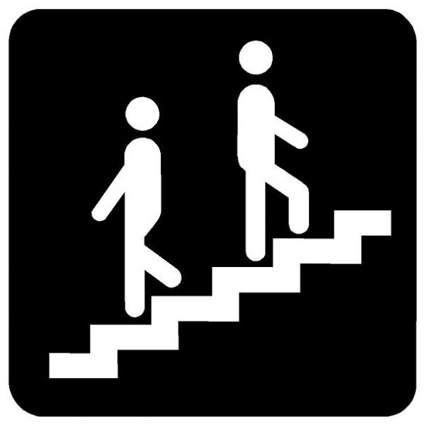 Stairway symbol image